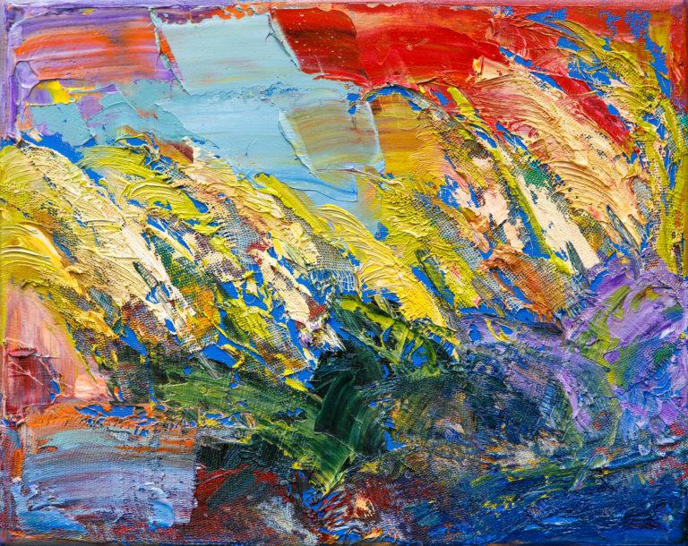 <titulo-obra>Cortaderas</titulo-obra><br><desc-obra>24 x 30 cm - Mixta, óleo,  collage</desc-obra>