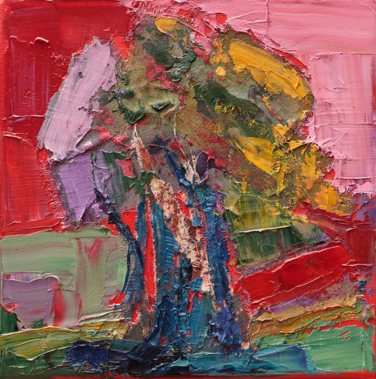 <titulo-obra>Ombú</titulo-obra><br><desc-obra>18 x 24 cm - Mixta, óleo,  collage</desc-obra>